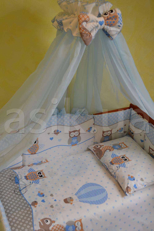 Комплекти дитячої постелі з 8-ми елементів ASIK d0e432cc4f037